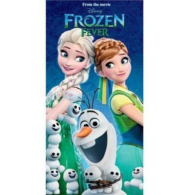 Frozen Fever strandlaken - katoen