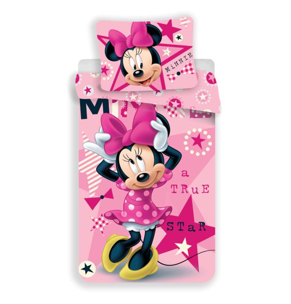 Minnie Mouse kinderdekbedovertrek 140x200 - True Star