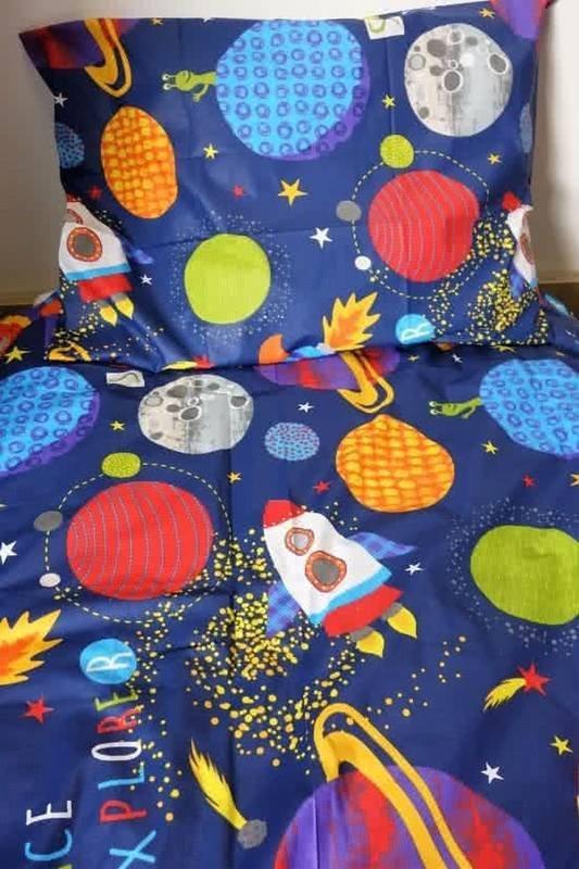 Space kinderdekbedovertrek 140x200