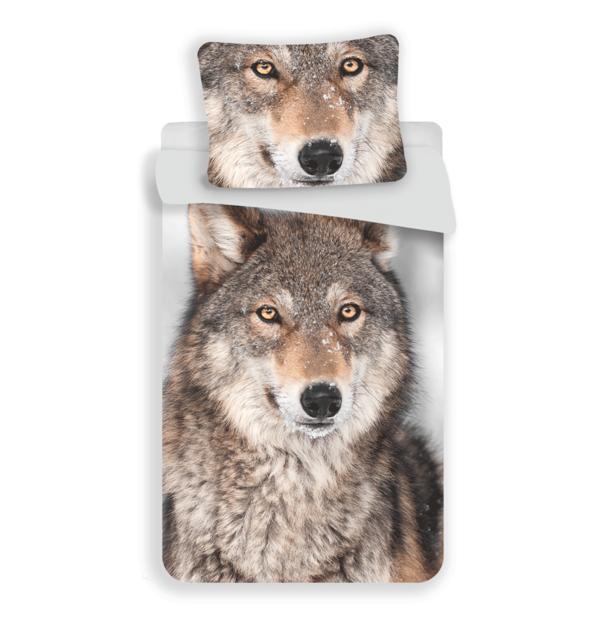 Wolf kinderdekbedovertrek 140x200