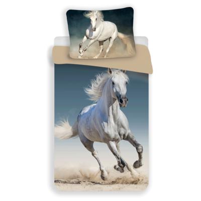 Paard kinderdekbedovertrek 140x200