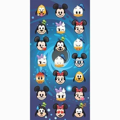 Emoji Disney strandlaken - katoen