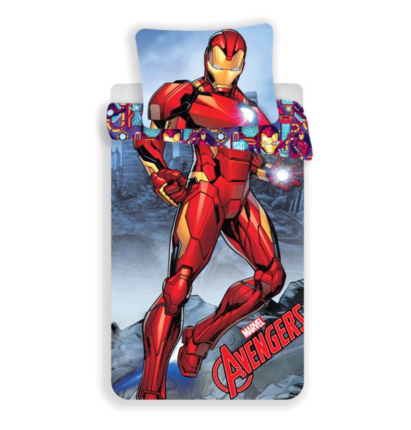Iron Man dekbedovertrek 140x200