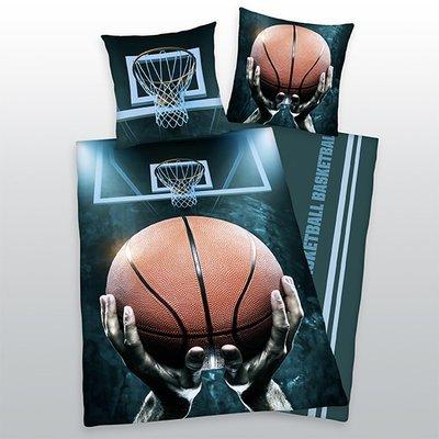 Basketbal kinderdekbedovertrek 140x200