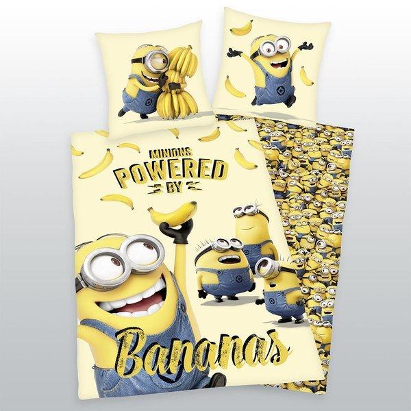 Minions kinderdekbedovertrek 140x200 - Bananas