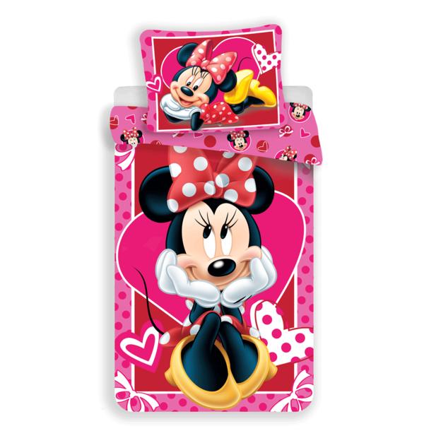 Minnie Mouse kinderdekbedovertrek 140x200 - Hearts