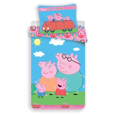 Peppa Pig kinderdekbedovertrek 140x200 - Family