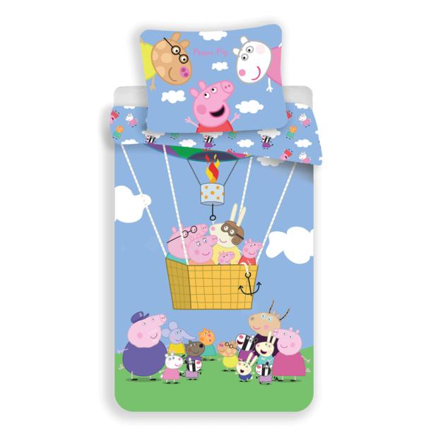 Peppa Pig kinderdekbedovertrek 140x200 - Friends