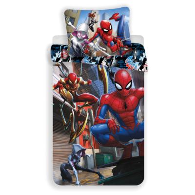 Spiderman kinderdekbedovertrek 140x200 - Action