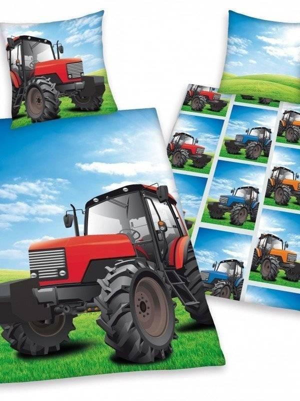 Tractor kinderdekbedovertrek 140x200