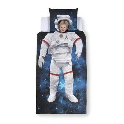 Astronaut kinderdekbedovertrek 140x200