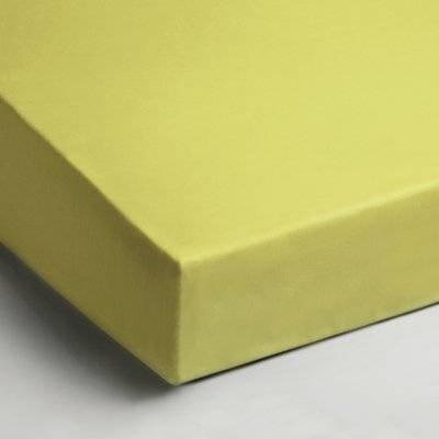 Jersey hoeslaken 90x200 - Lime