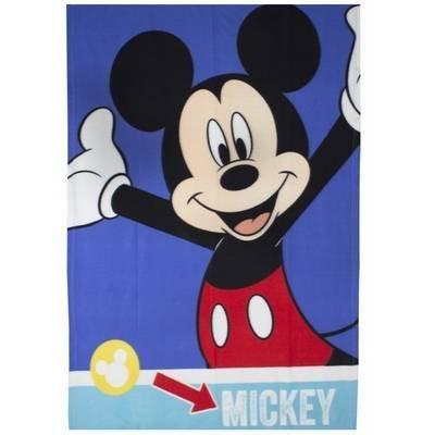 Mickey Mouse Plaid - Fleece deken 100x150