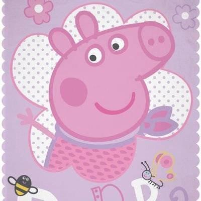 Peppa Pig Plaid - Fleece Deken 100x150