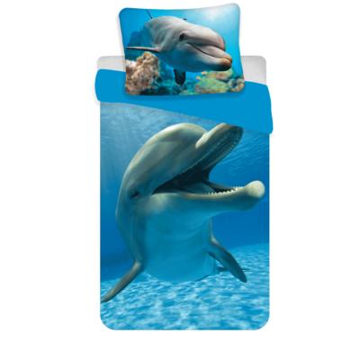 Dolfijn kinderdekbedovertrek 140x200