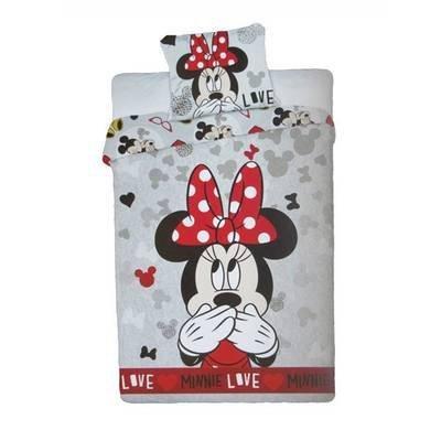 Minnie Mouse kinderdekbedovertrek 140x200 - Love