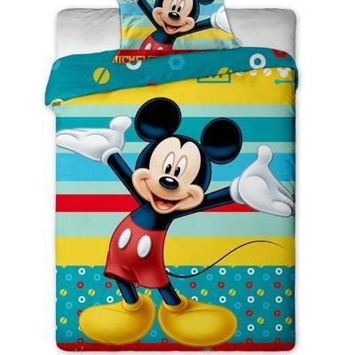 Mickey Mouse kinderdekbedovertrek 140x200 - Happy