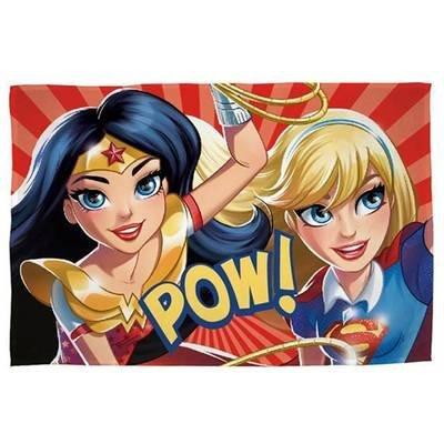 Plaid DC Super Hero Girls - Fleece deken 100x150