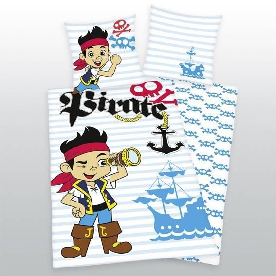 Jake en de Nooitgedacht Piraten kinderdekbedovertrek 140x200