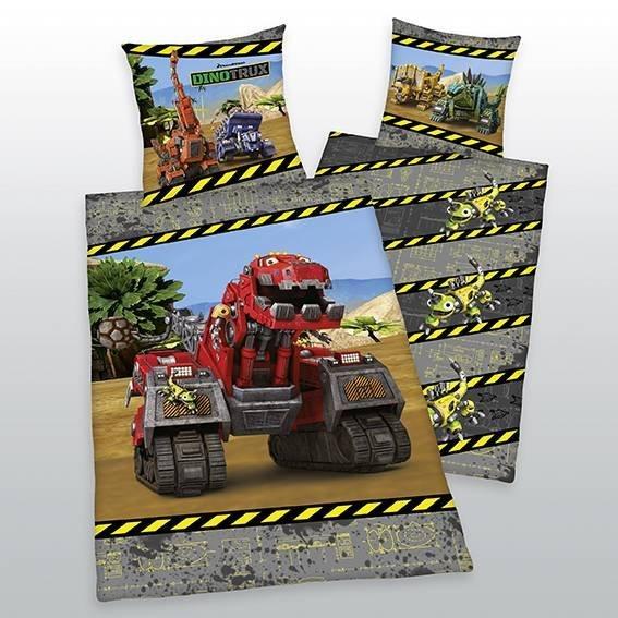 Dinotrux kinderdekbedovertrek 140x200