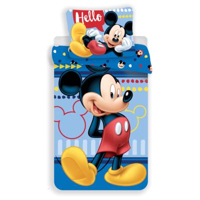 Mickey Mouse kinderdekbedovertrek 140x200 - Hello