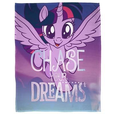 My Little Pony Plaid - Fleece deken 100x150 - Chase your dreams