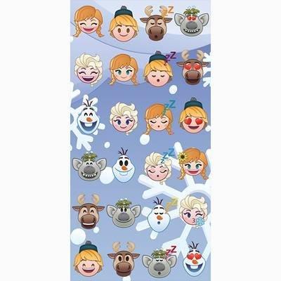 Emoji Frozen strandlaken - katoen