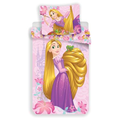Rapunzel kinderdekbedovertrek 140x200 - Roze
