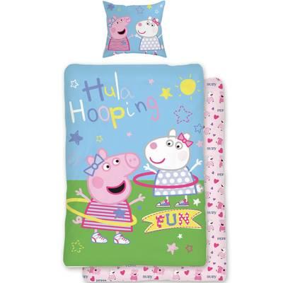 Peppa Pig kinderdekbedovertrek 140x200 - Fun