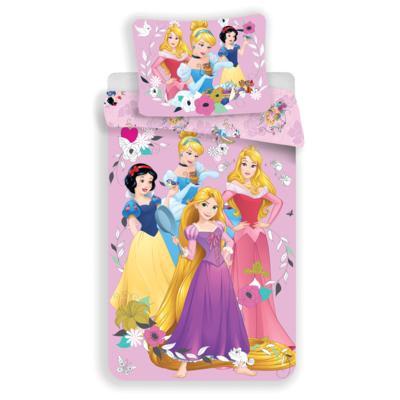 Princess kinderdekbedovertrek 140x200 - Pink