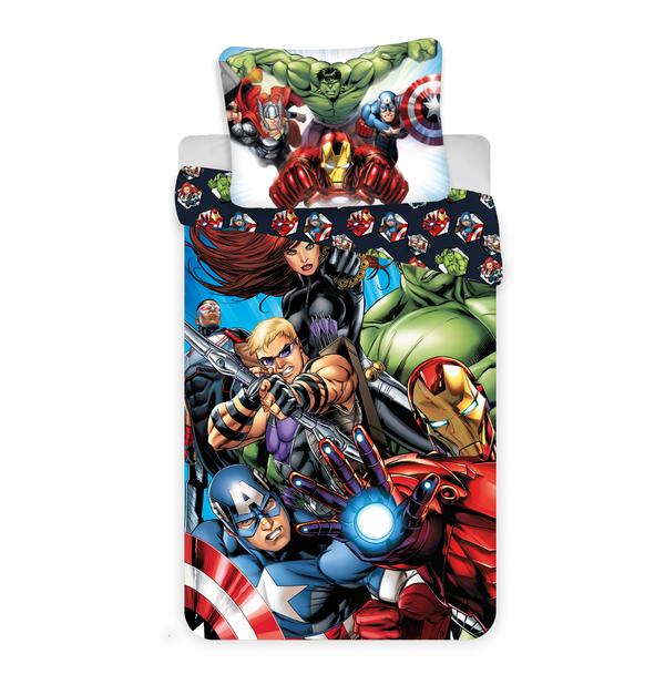 Avengers kinderdekbedovertrek 140x200 - Superheroes