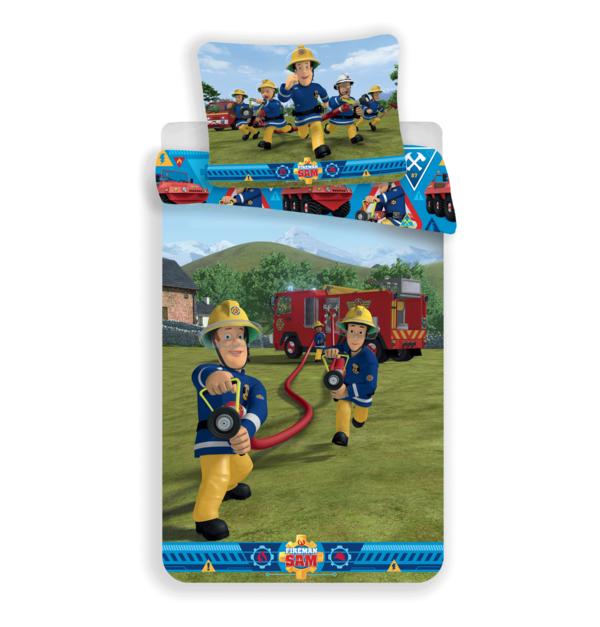 Brandweerman Sam kinderdekbedovertrek 140x200 - Blussen