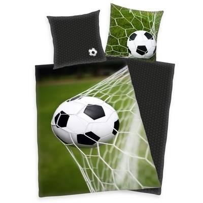 Voetbal kinderdekbedovertrek 140x200