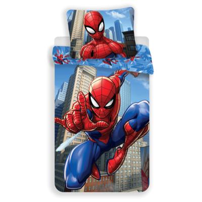 Spiderman kinderdekbedovertrek 140x200 - Blue