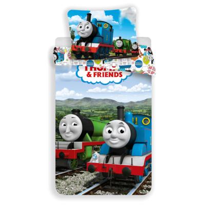 Thomas de Trein kinderdekbedovertrek 140x200 - Funny