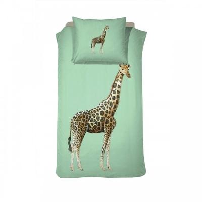 Giraf kinderdekbedovertrek 140x200 - Willa Green