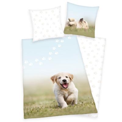 Puppy kinderdekbedovertrek 140x200 - Welpe