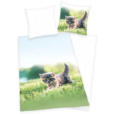 Kitten kinderdekbedovertrek 140x200 - Katzchen